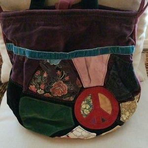 Lucky Brand hippie bucket bag